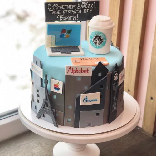 Торт #665